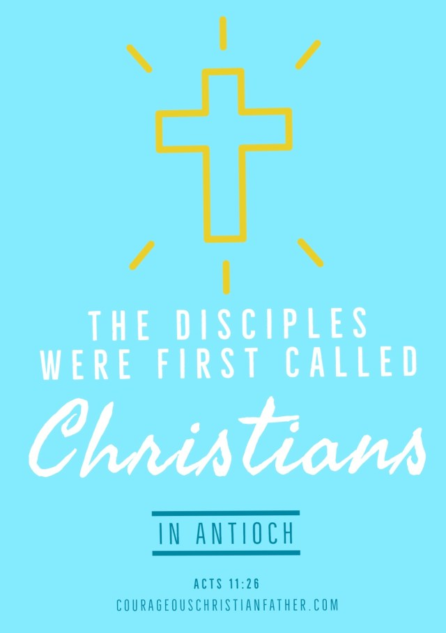 """The Disciples Were First Called Christians in Antioch - This is where the Bible records where the disciples were first called Christians. #Christians """"and when he had found him, he brought him to Antioch. And for an entire year they met with the church and taught considerable numbers; and the disciples were first called Christians in Antioch."""" Acts 11:26"""