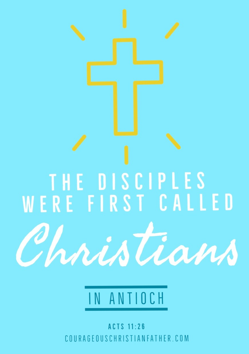 "The Disciples Were First Called Christians in Antioch - This is where the Bible records where the disciples were first called Christians. #Christians ""and when he had found him, he brought him to Antioch. And for an entire year they met with the church and taught considerable numbers; and the disciples were first called Christians in Antioch."" Acts 11:26"