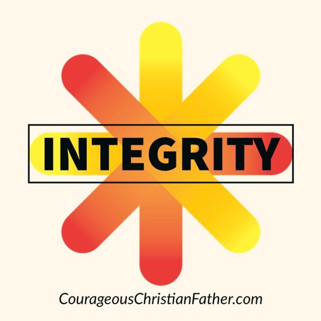 Integrity - as a Christian, we are called to live a life of integrity. #Integrity