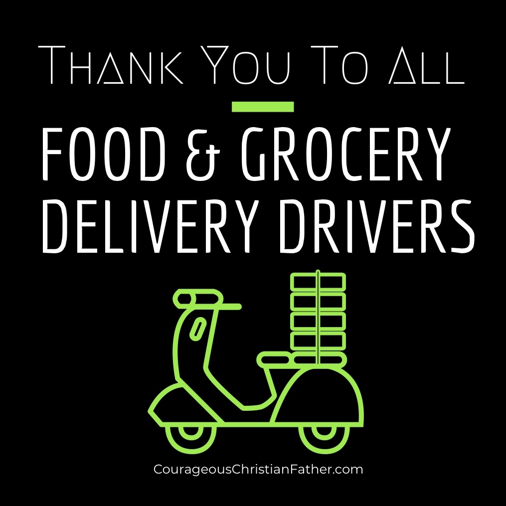 Thank You Shoutouts - Food & Grocery Delivery Drivers
