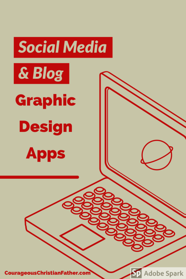 Social Media & Blog Graphic Design Apps - Here are some graphic design apps you can use for your blog and/or social media.