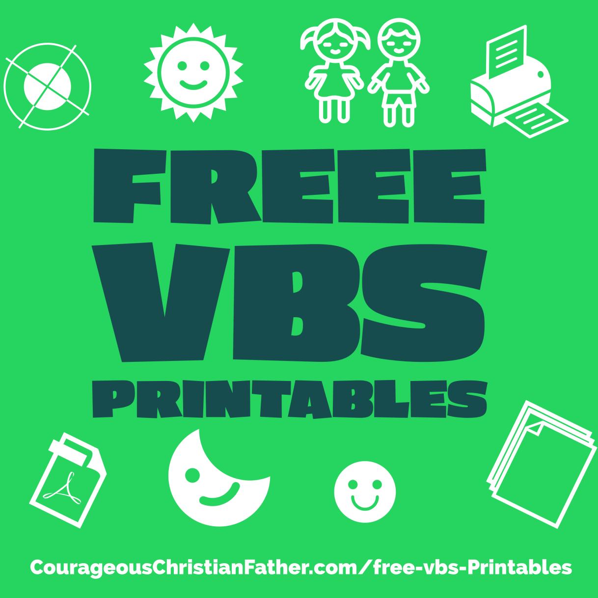 FREE VBS Printables