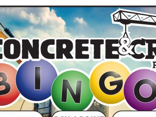 Concrete & Cranes Bingo VBS Printable
