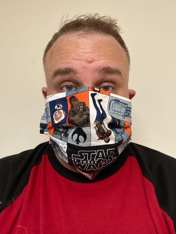 Star Wars Face Mask #StarWars #FaceMask