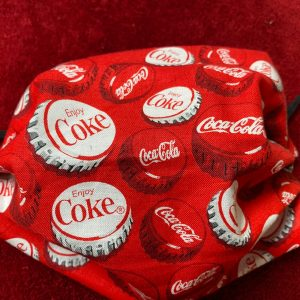 Coca-Cola Face Mask #CocaCola #FaceMask