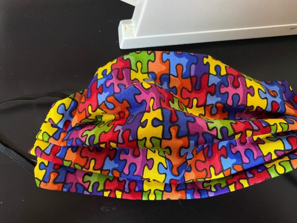 Puzzle Face Mask for Autism