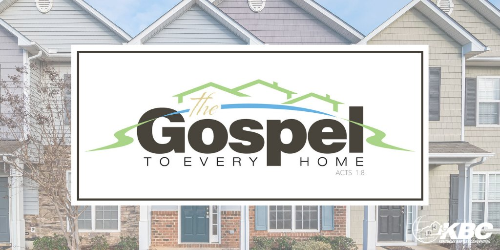Gospel in Every a Home - This should be a goal for all Christians, since we are ALL called to share the gospel! #GospelInEveryHome