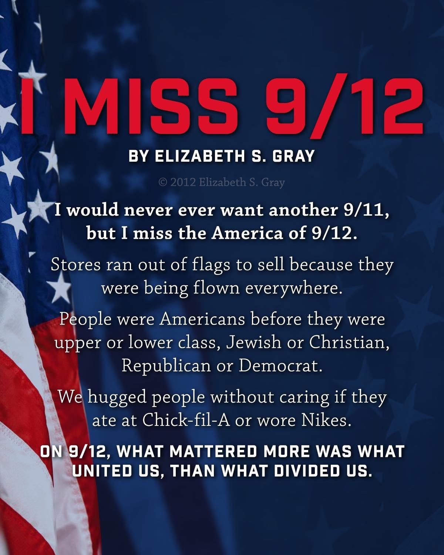 I Miss 9/12