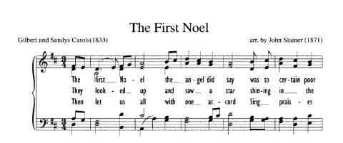 "Christmas Carol Spotlight: The First Noel - The history of and lyrics to ""The First Noël."" #FirstNoel #FirstNoël"