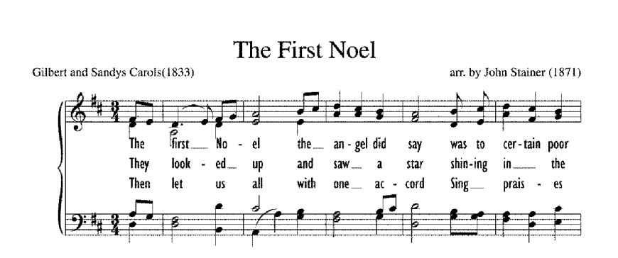 "Christmas Carol Spotlight: The First Noel - The history of and lyrics to ""The First Noël."" #FirstNoel #FirstNoël"
