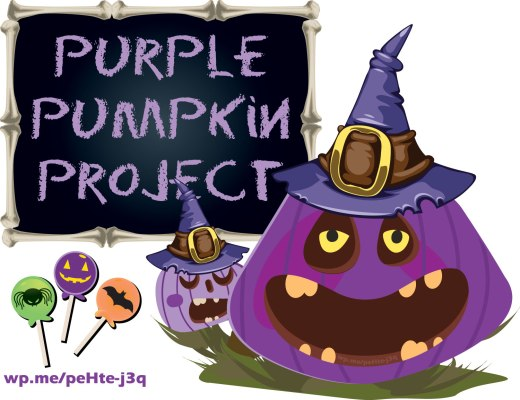 The Purple Pumpkin Project - This year you might see purple pumpkins and they are suppose to have a meaning that deals with the COVID-19 pandemic. #PurplePumpkin #PurplePumpkinProject