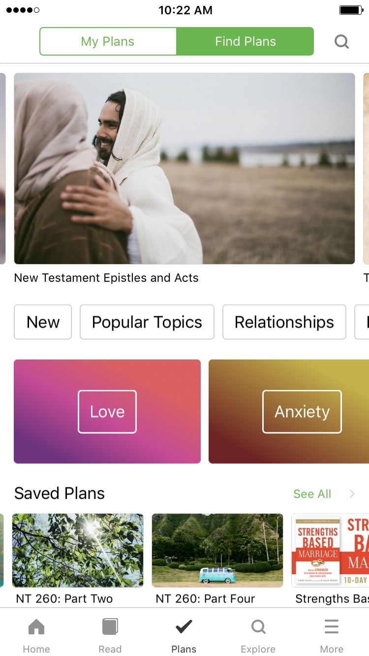 Most popular Bible verse and top search terms tell a story of faith in 2020 - In a year marked by uncertainty and turmoil, more people than ever turned to the Bible for hope. In fact, the YouVersion Community completed nearly 600 million searches within the app in 2020, an 80% increase over the previous year.