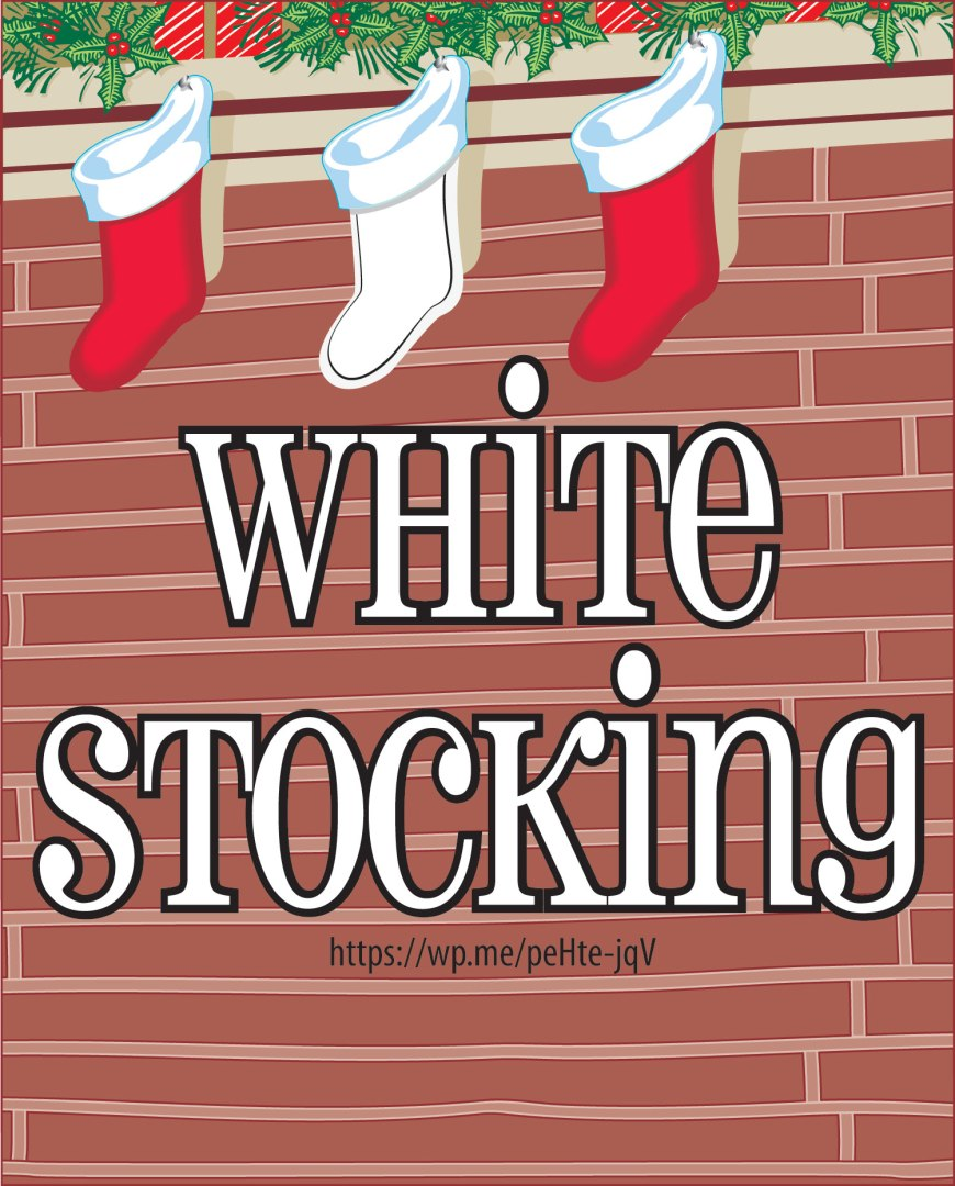 White Stocking - a way of giving to Jesus with things that have been done for another and/or with what you are thankful for. #WhiteStocking