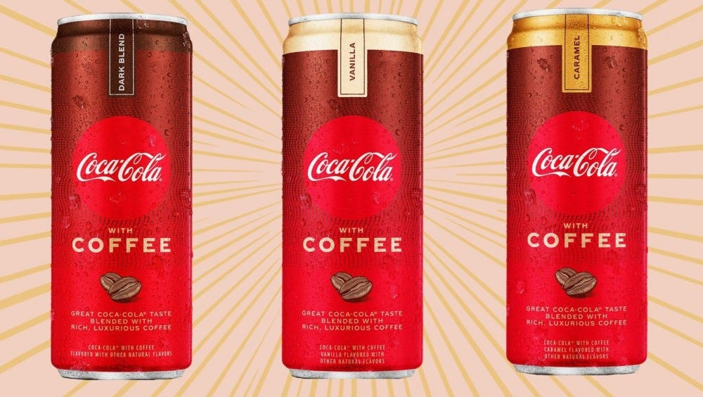 Coca-Cola Coffee Taste Test - I am going to taste test two of the Coca-Cola Coffee drinks. I will try the Coca-Cola Coffee with Vanilla and the Coca-Cola Coffee with Carmel. #CocaColaCoffee #CocaCola #Coffee
