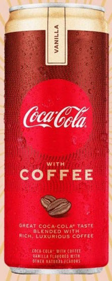 Coca-Cola Coffee with Vanilla