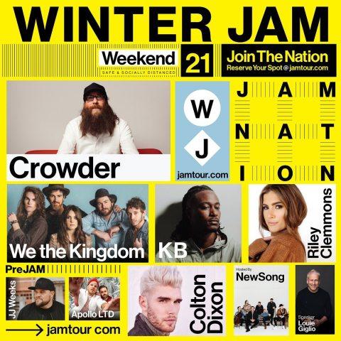 Winter Jam 2021 Poster