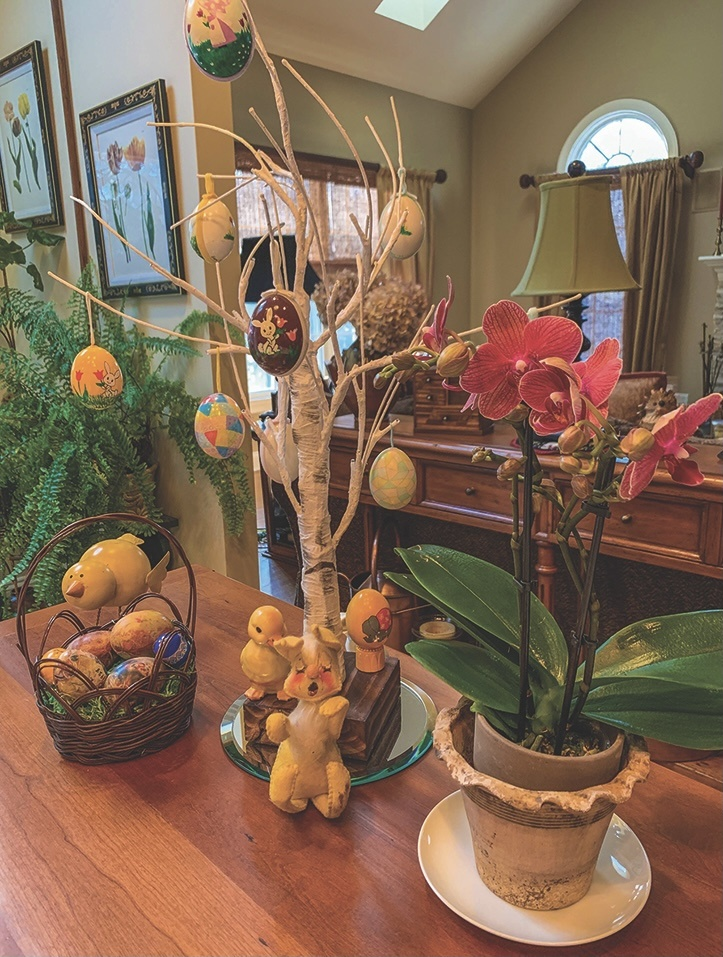 Easter trees makes festive spring decorations - Even though trees may be more widely associated with Christmas, Easter trees are an increasingly popular and festive tradition that trace their roots to Germany.