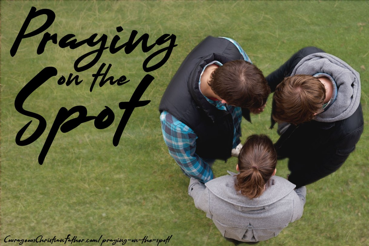 Praying on the Spot
