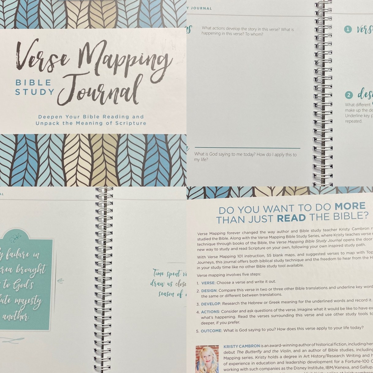 Verse Mapping Journal
