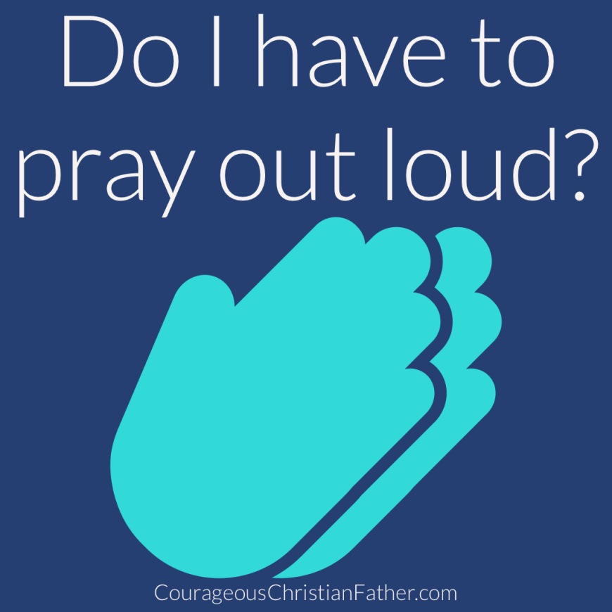 Do I have to pray out loud? A good question to be asked. Do we need to speak out loud or can we just think it or whisper our prayer? #pray #prayer