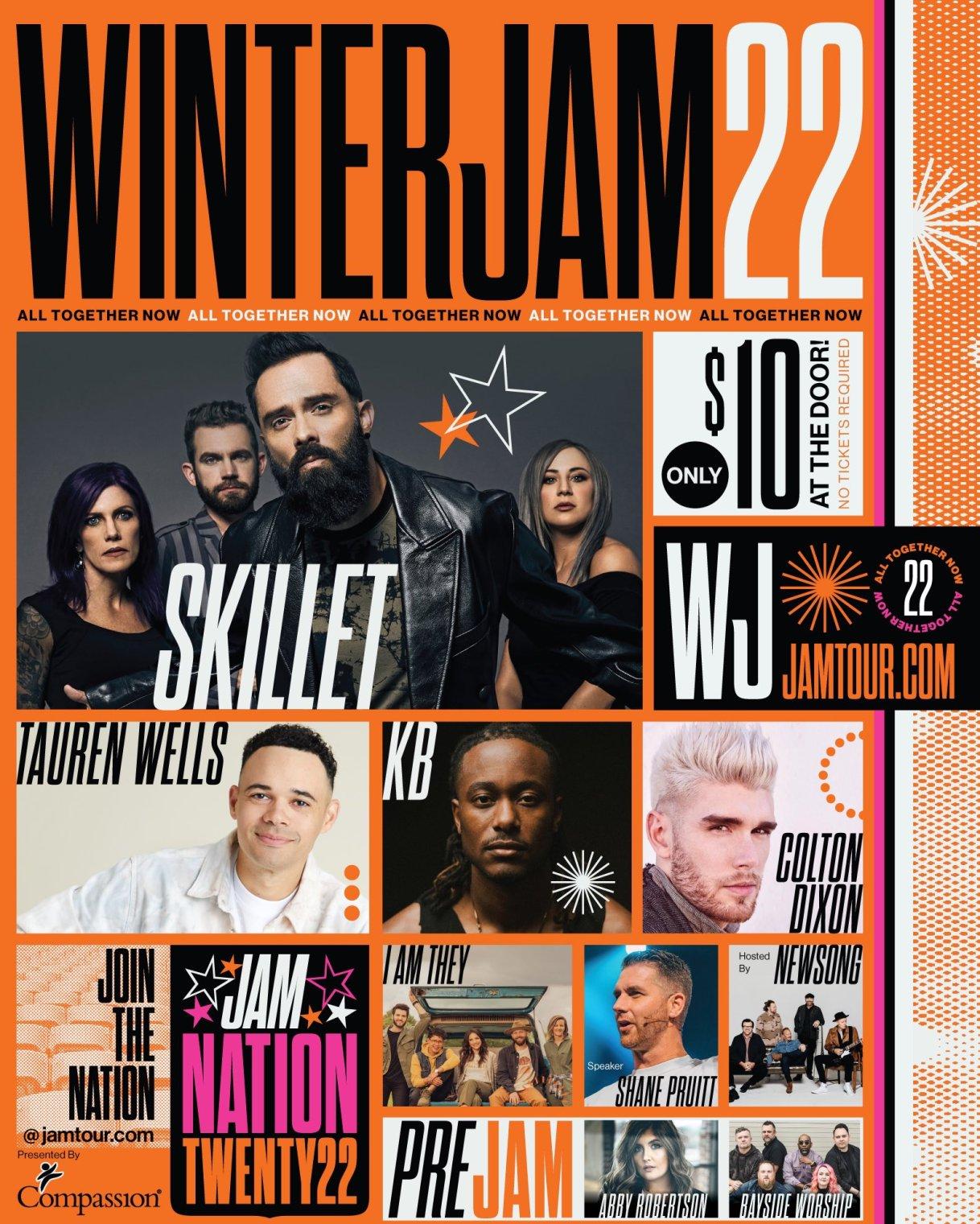 Winter Jam 2022 Artist & Cities Announced