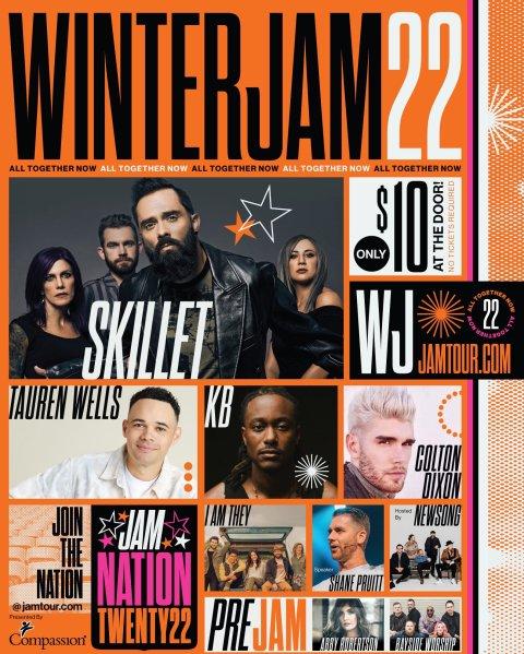 The East Coast Winter Jam has been announced. #WinterJam #JamNation #WinterJam22 #WinterJam2022