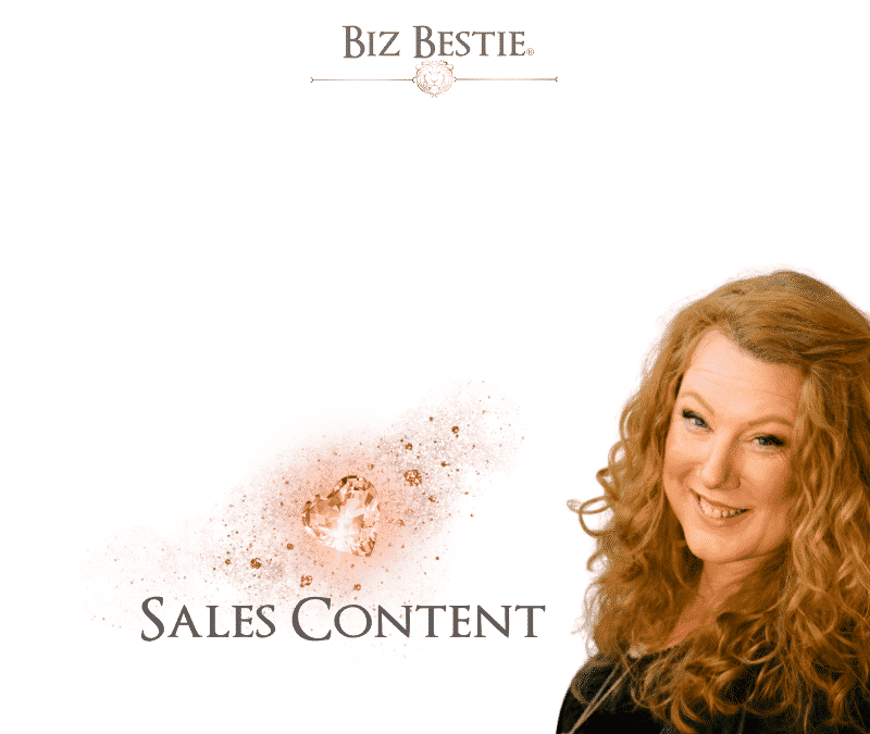 Sales Strategies – Creating Sales with content