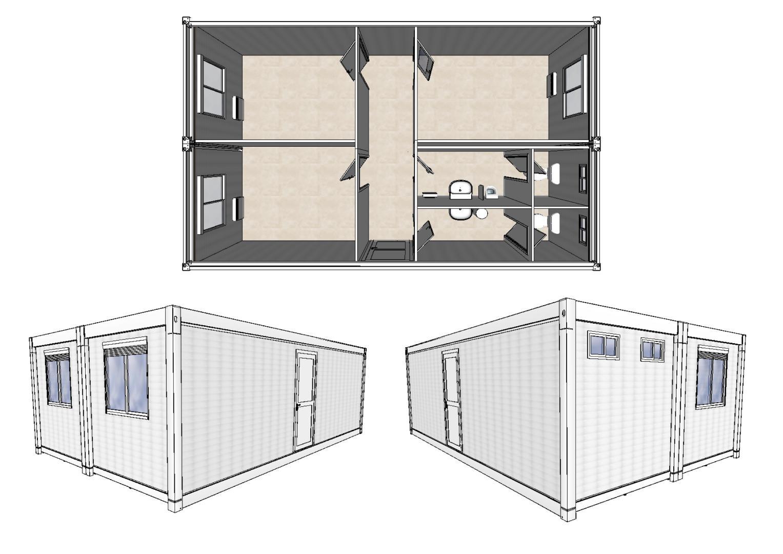 bureau modulaire d occasion 38 m propose par courant constructeur