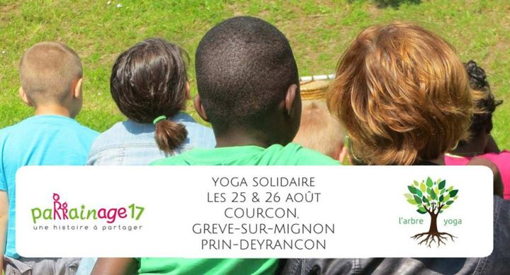 1H DE YOGA SOLIDAIRE A COURCON