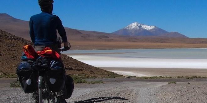 cycliste sud lipez Bolivie