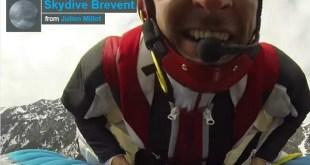 Saut en base jump flying frenchies