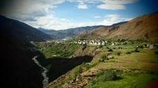 Village tibétain, Yunnan, Chine