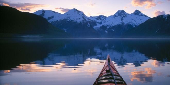 alaska kayak montagne
