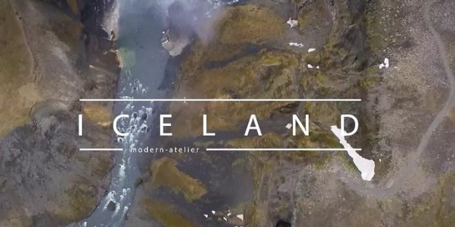 drone dji pahntom islande