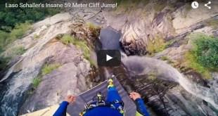 record du monde saut de falaise