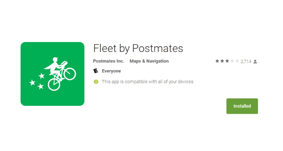 Postmates Fleet App Postmates Tricks