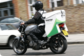 Image result for motorbike courier