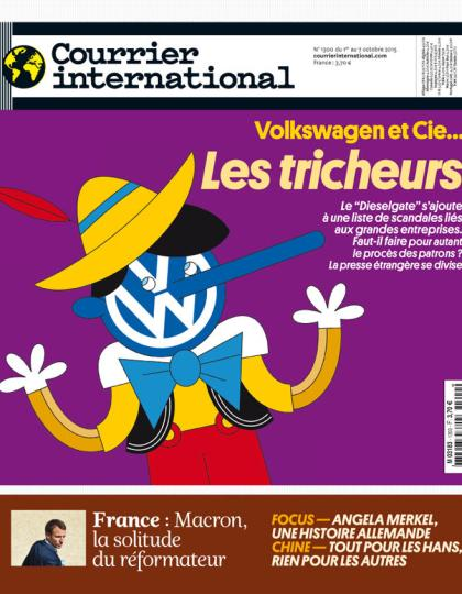 COURRIER INTERNATIONAL N°1300 du 1er au 7 octobre 2015