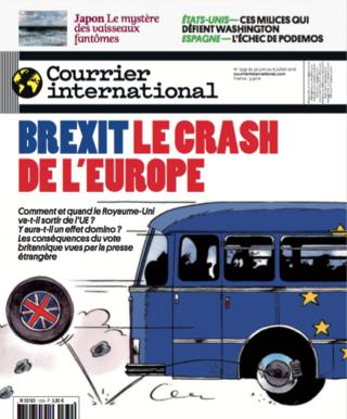 Cover Courrier International