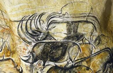 galerie-rhinoceros-grotte-chauvet-caverne-pont-arc-ardeche