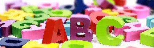 lettres de l'alphabet