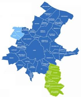 zone cours à domicile Caen