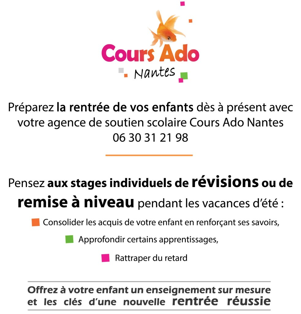 cours particuliers à domicile Nantes