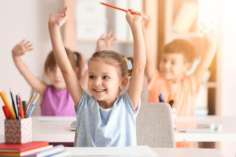 enfant cours de maternelle