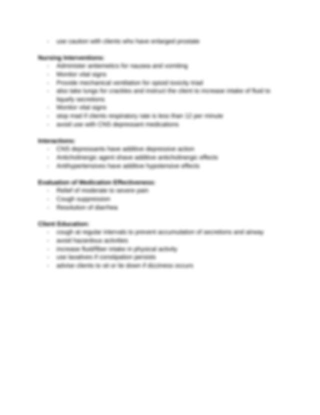 Ati Medication Template Fentanyl