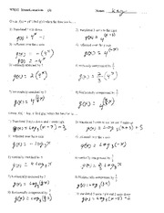 Factoring Review Worksheet Answers Worksheets For School - Getadating