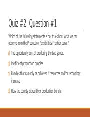 Chapter 1 Quiz Chapter 1 Quiz Question1 Which of the