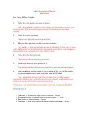 Lab 3 Density Worksheet