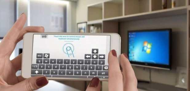 تحويل هاتفك الي ماوس وكيبورد للكمبيوتر الخاص بك