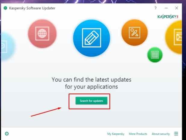 تحميل Kaspersky Software Updater